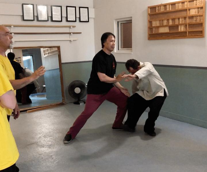 [Taiji Quan] C'est toujours «le corps d'abord» et «les bras après».