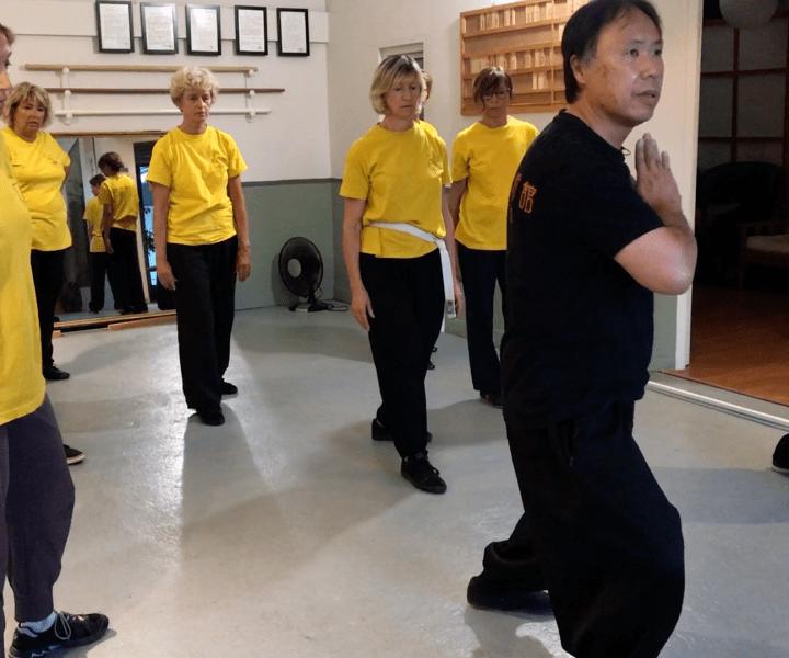 [Taiji Quan] Un mot sur la rotation du corps